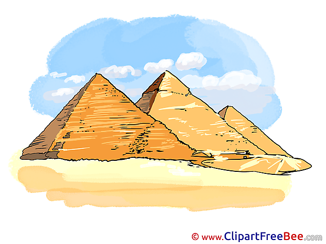 Pyramids free printable Cliparts and Images