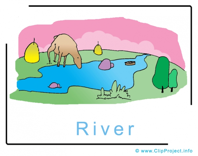 River Clipart Image free - Travel Clipart free