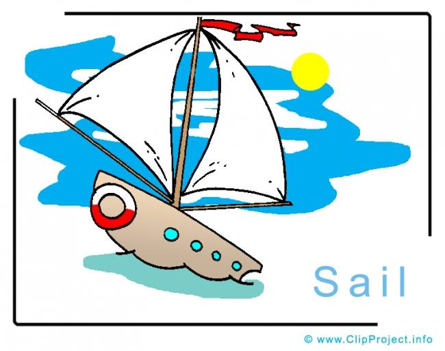 Sail Clipart Image free - Travel Clipart free