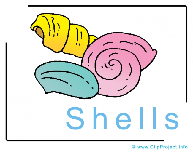 Shells Clipart Image free - Travel Clipart free