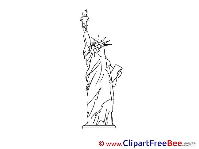 Statue of Liberty Pics download Illustration