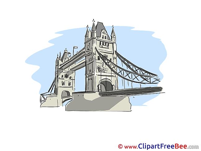 Tower Bridge London Pics printable Cliparts
