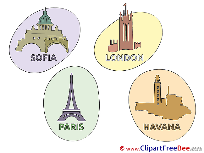 World Cities free Illustration download