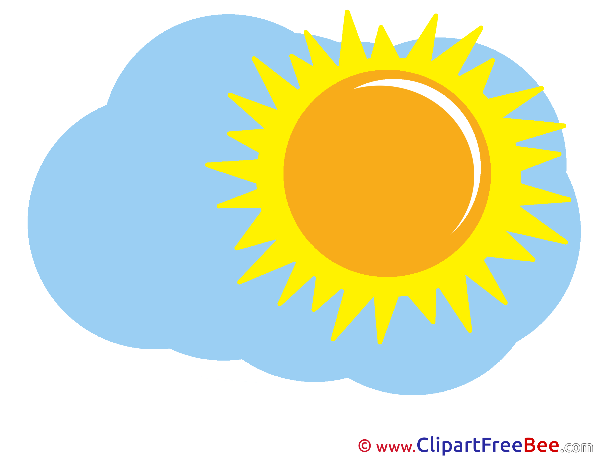 Beautiful Weather Sun Clip Art download for free