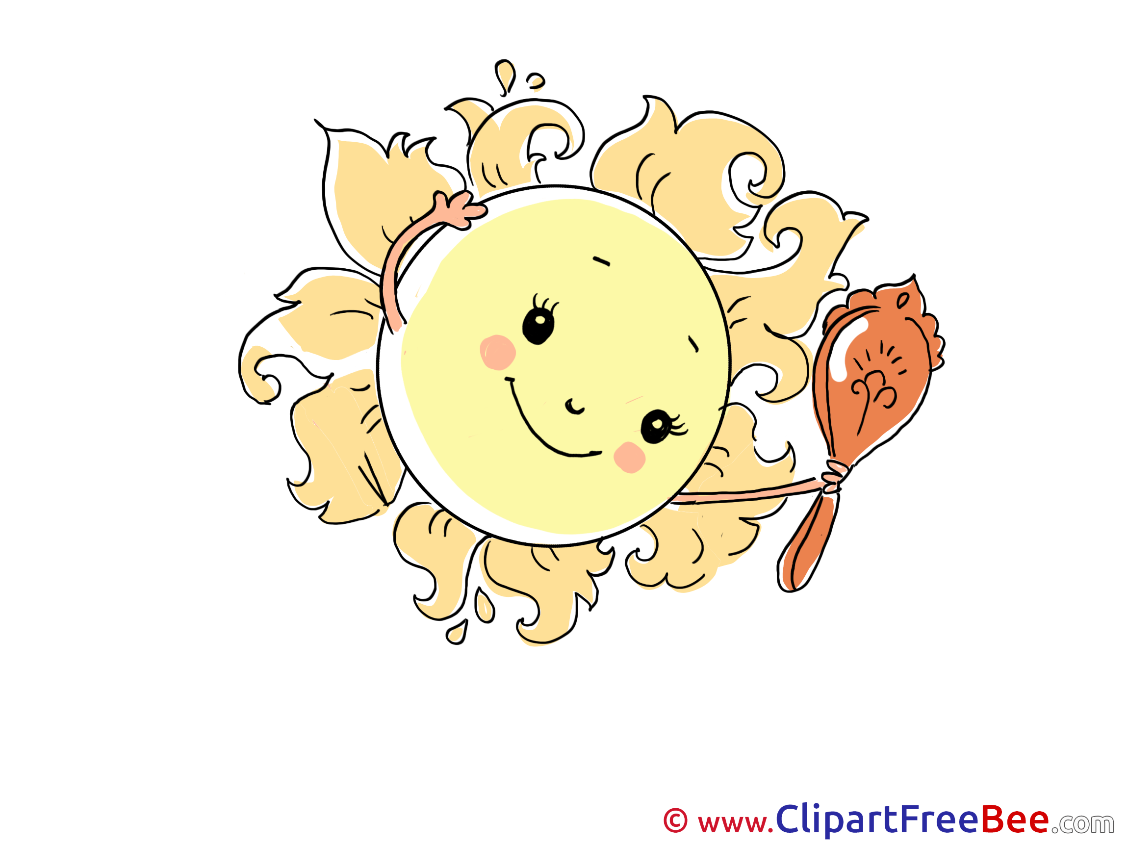 Mirror Sun Weather free printable Cliparts and Images