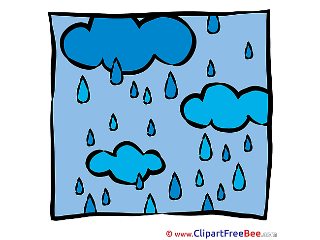 Rain free printable Cliparts and Images