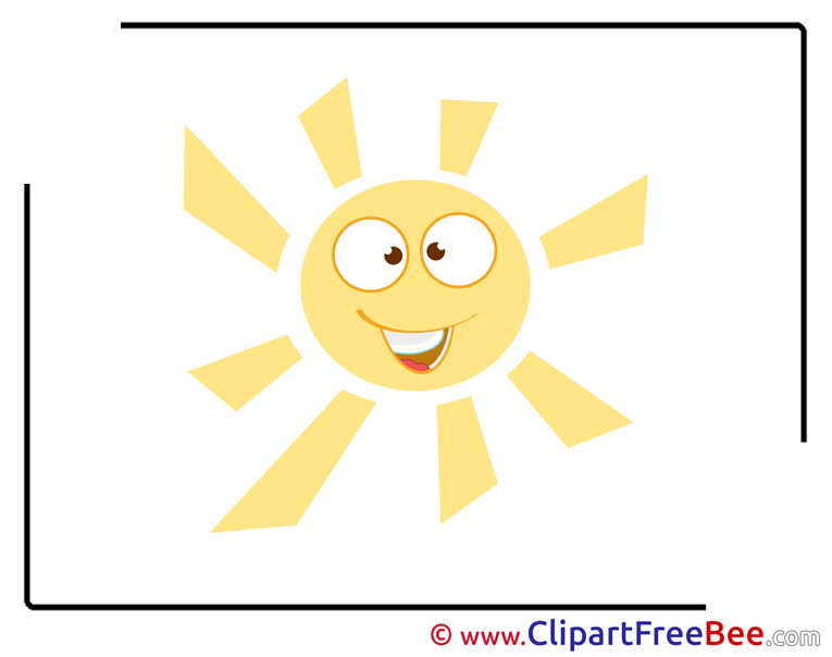 Smiling Sun download Clip Art for free