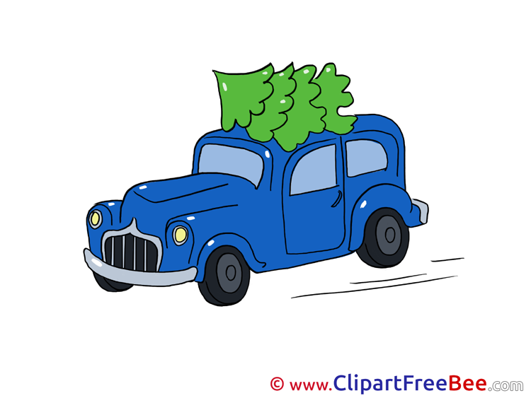 Car Winter Illustrations for free