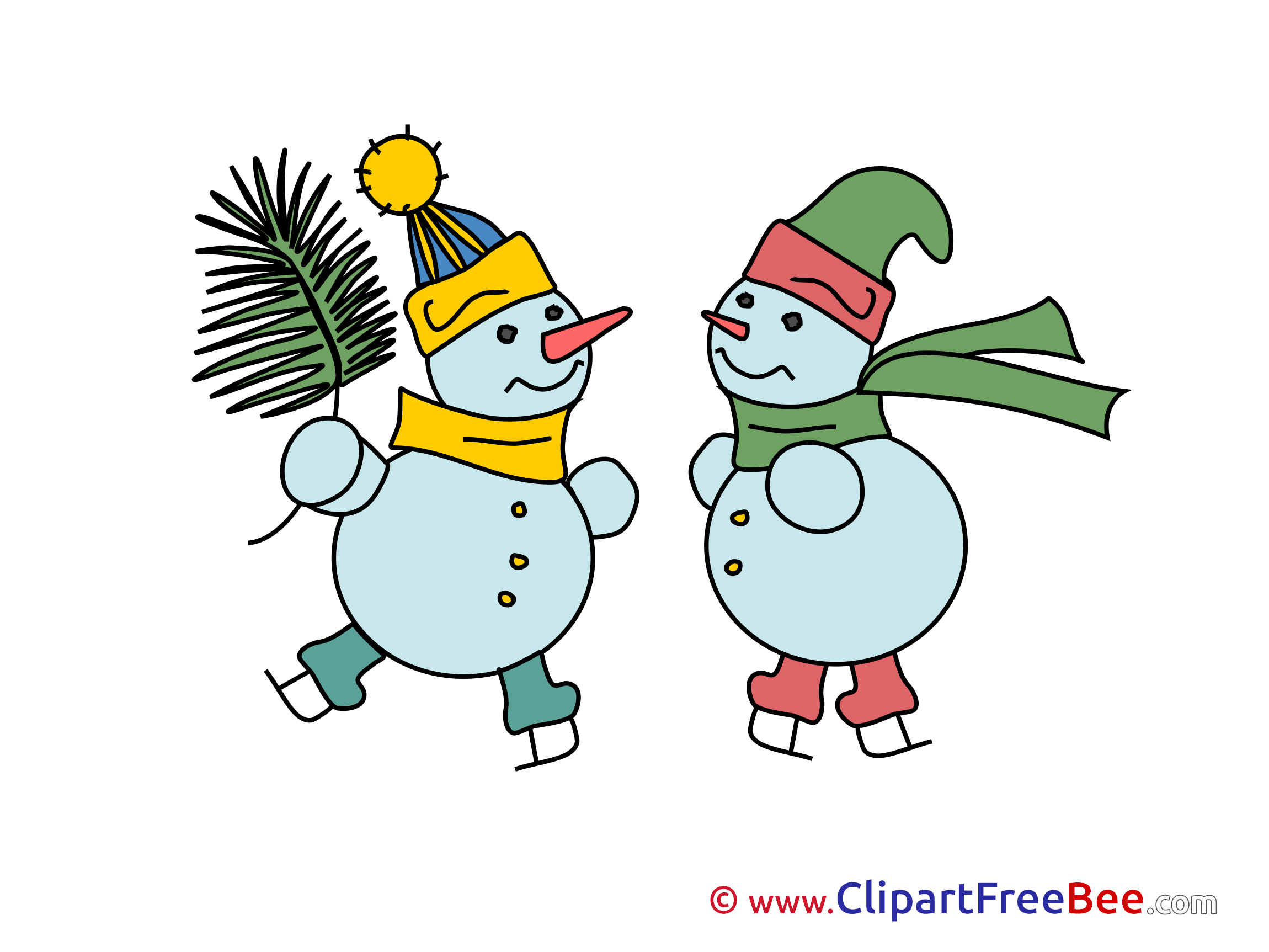 Download Snowmen Winter Illustrations