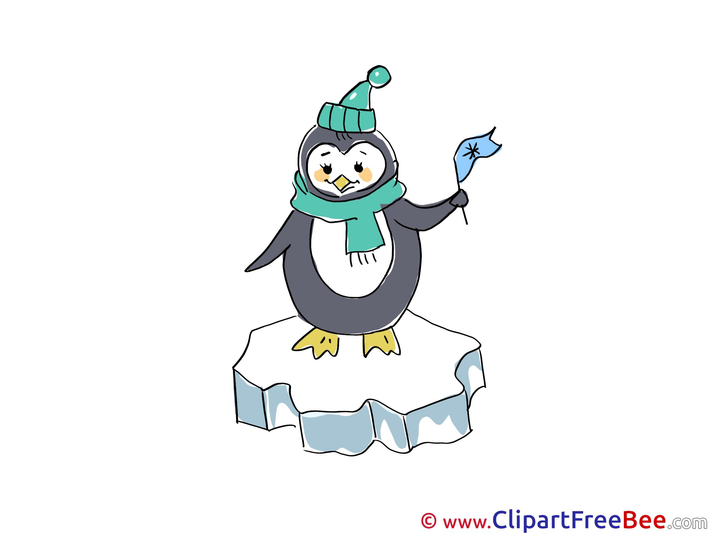 Penguin Clip Art download Winter