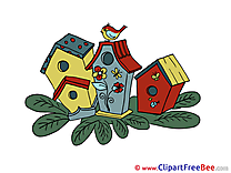 Houses Clip Art download Advent