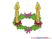 Pics Candles Advent free Cliparts