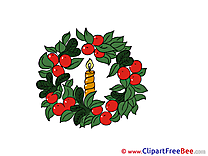 Pics Wreath Christmas Advent free Image