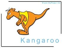 Kangoroo Clip Art Image free