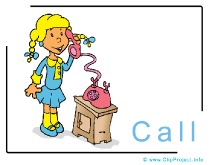 Call Clip Art Image free