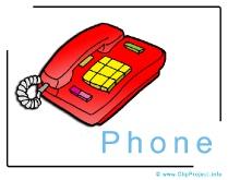 Phone Clip Art Image free