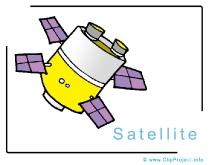 Satellite Clip Art Image free