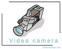 Video Camera Image Clip Art free
