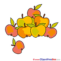 Apples Clipart Autumn free Images