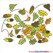 Clipart Acorns Autumn free Images
