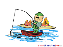 Fishing Cliparts Autumn for free