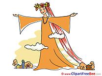 Goddess Pics Autumn free Cliparts