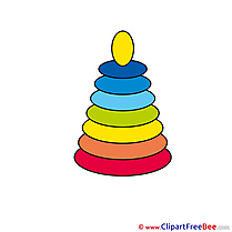 Pyramide printable Illustrations Baby