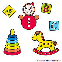 Wooden Horse Toys download Clipart Baby Cliparts