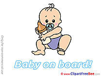 Milk Bottle Clip Art download Baby on board