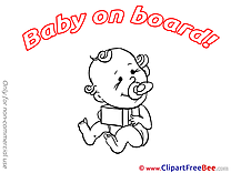 Present Baby on board free Images download