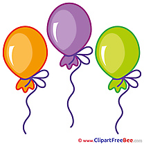 Balloons free Illustration Birthday