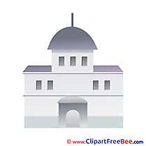 Church Clipart free Illustrations
