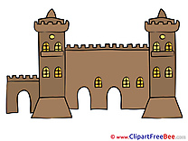 Wall Fort Clip Art download for free