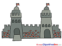 Wall Towers Castle Images download free Cliparts