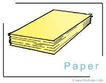 Paper Clipart Image - Business Clipart Images for free
