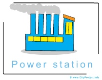 Power Station Clipart Image - Business Clipart Images for free