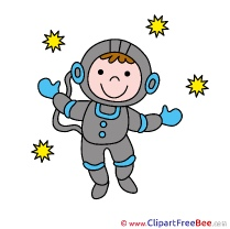 Astronaut Cosmos free Cliparts for download