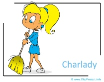 Charlady Clipart Image - Career Clipart Images