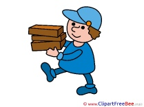 Delivery Man Images download free Cliparts