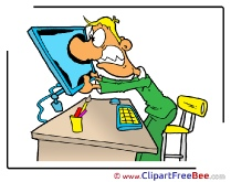 Office Manager Clipart free Illustrations