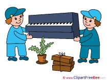 Piano Loaders Pics download Illustration