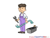 Plumber Clipart free Image download