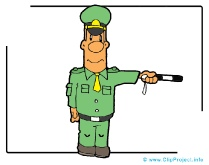 Policeman Clipart Image - Career Clipart Images