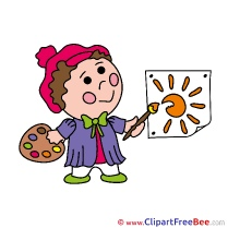 Sun Painter Clipart free Image download