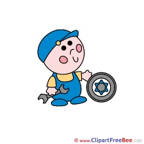 Tire Mechanic Pics free Illustration