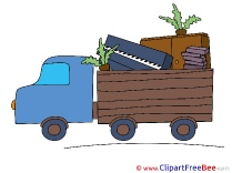 Truck Transportation free printable Cliparts and Images