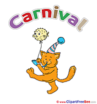 Cat Fish download Carnival Illustrations