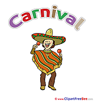 Mexican Clip Art download Carnival