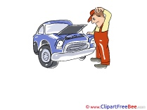 Engine Repairs Pics download Illustration