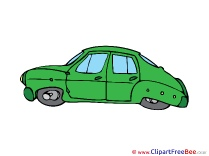 Green Car download Clip Art for free
